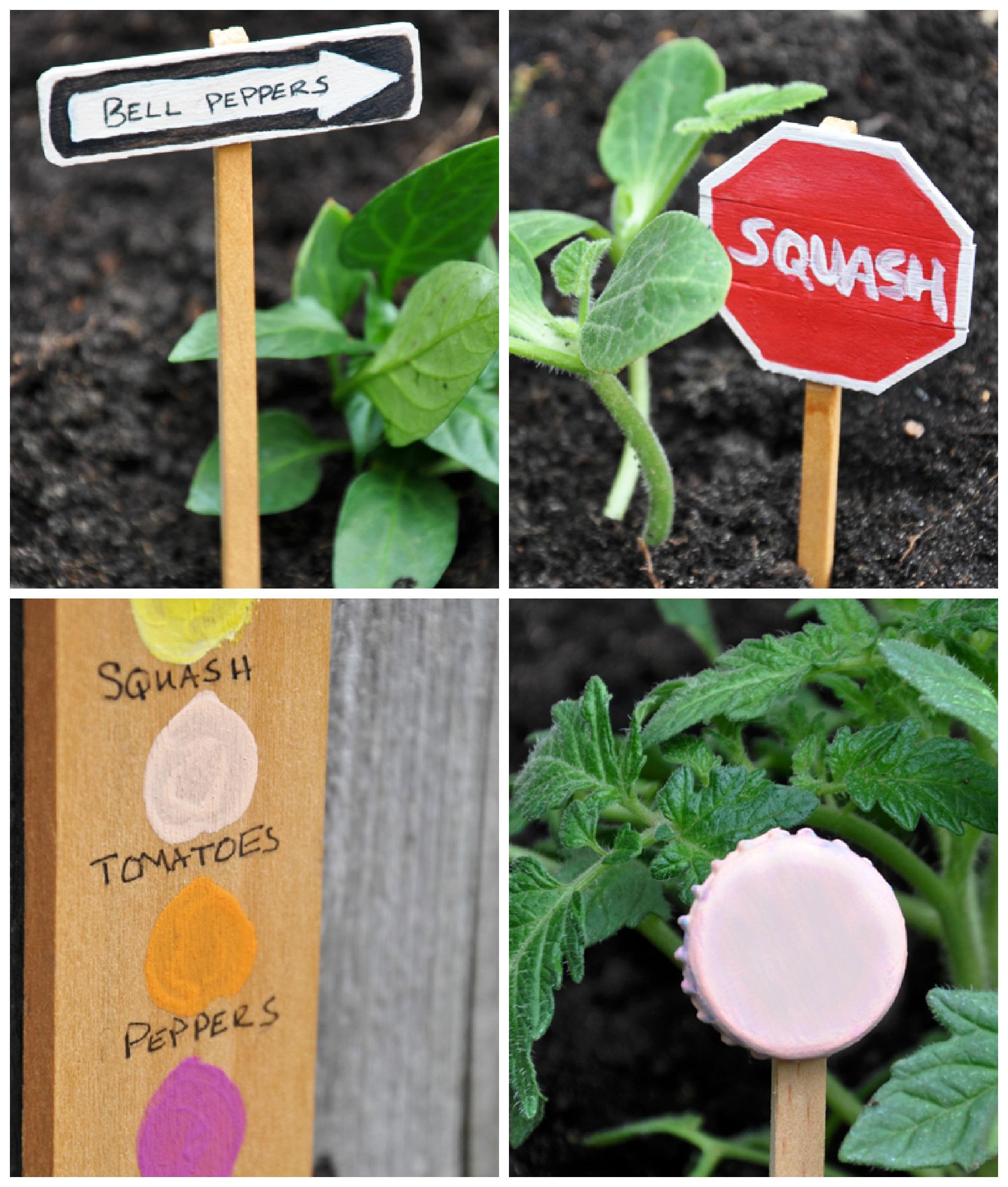 Garden Crafts Markers