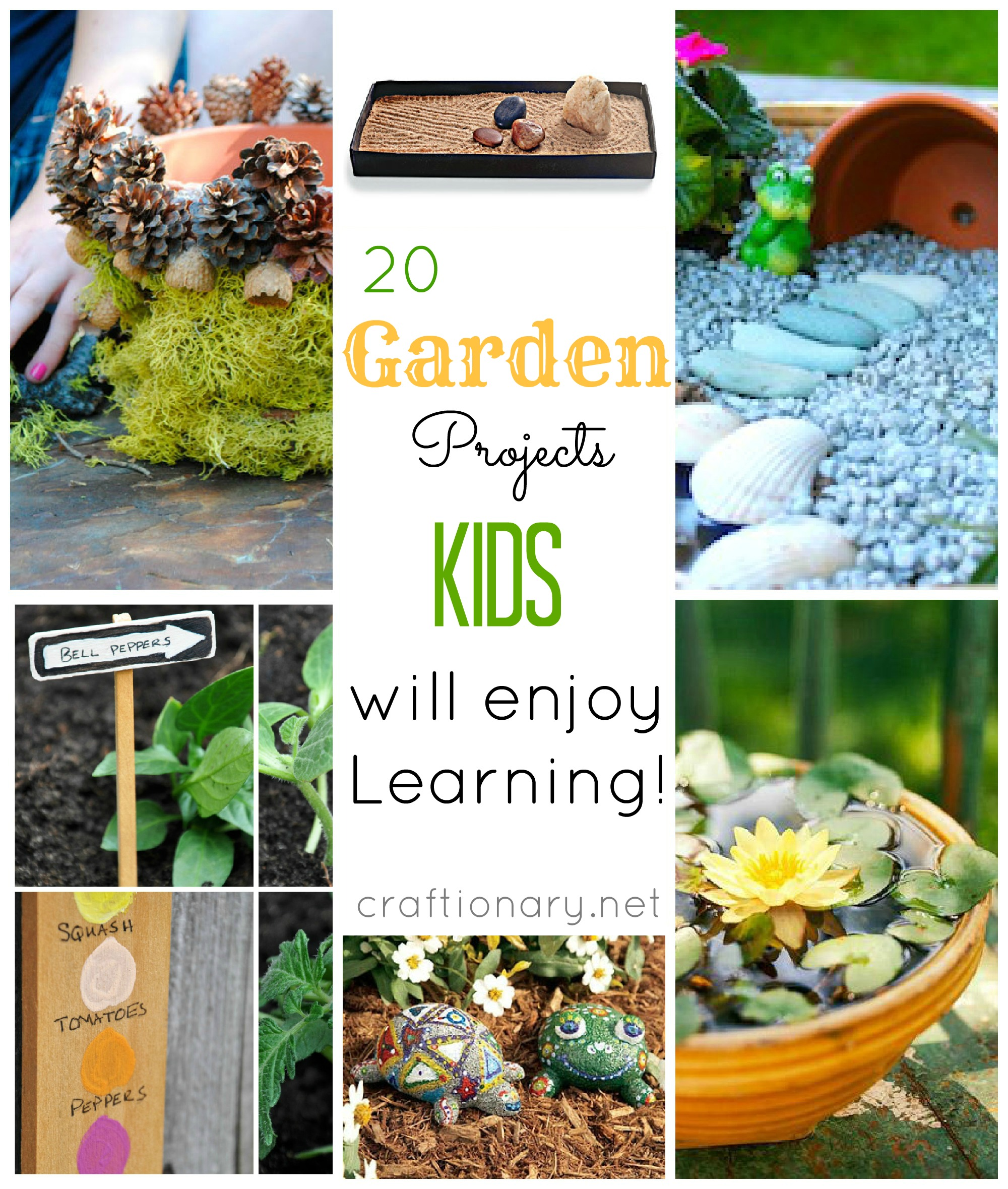Craftionary Kids garden ideas
