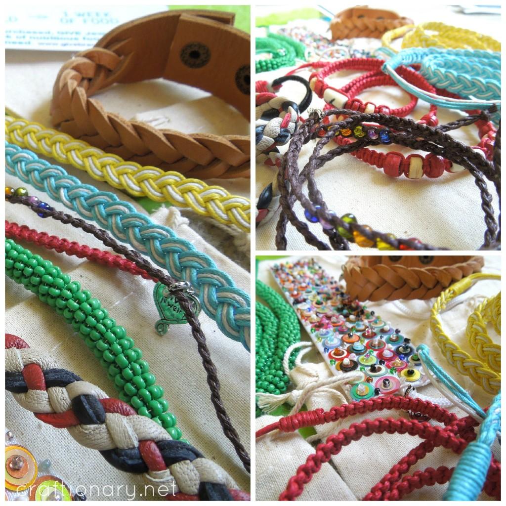 give bracelets