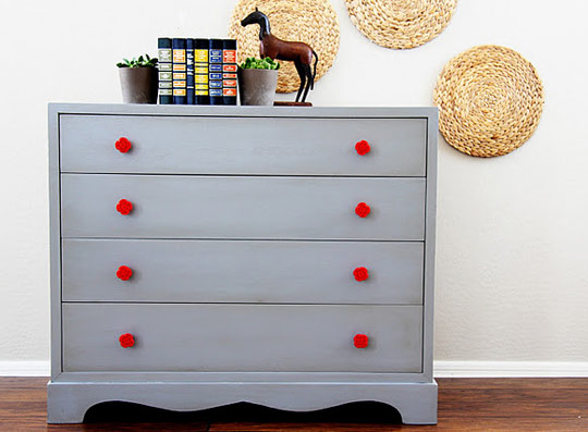 Exceptionnel Gray Painted Furniture