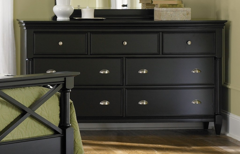 Inky Black Painted Furniture