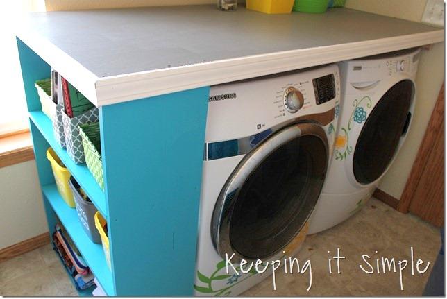 laundry table storage
