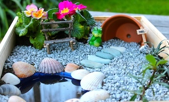 Garden Ideas For Toddlers craftionary