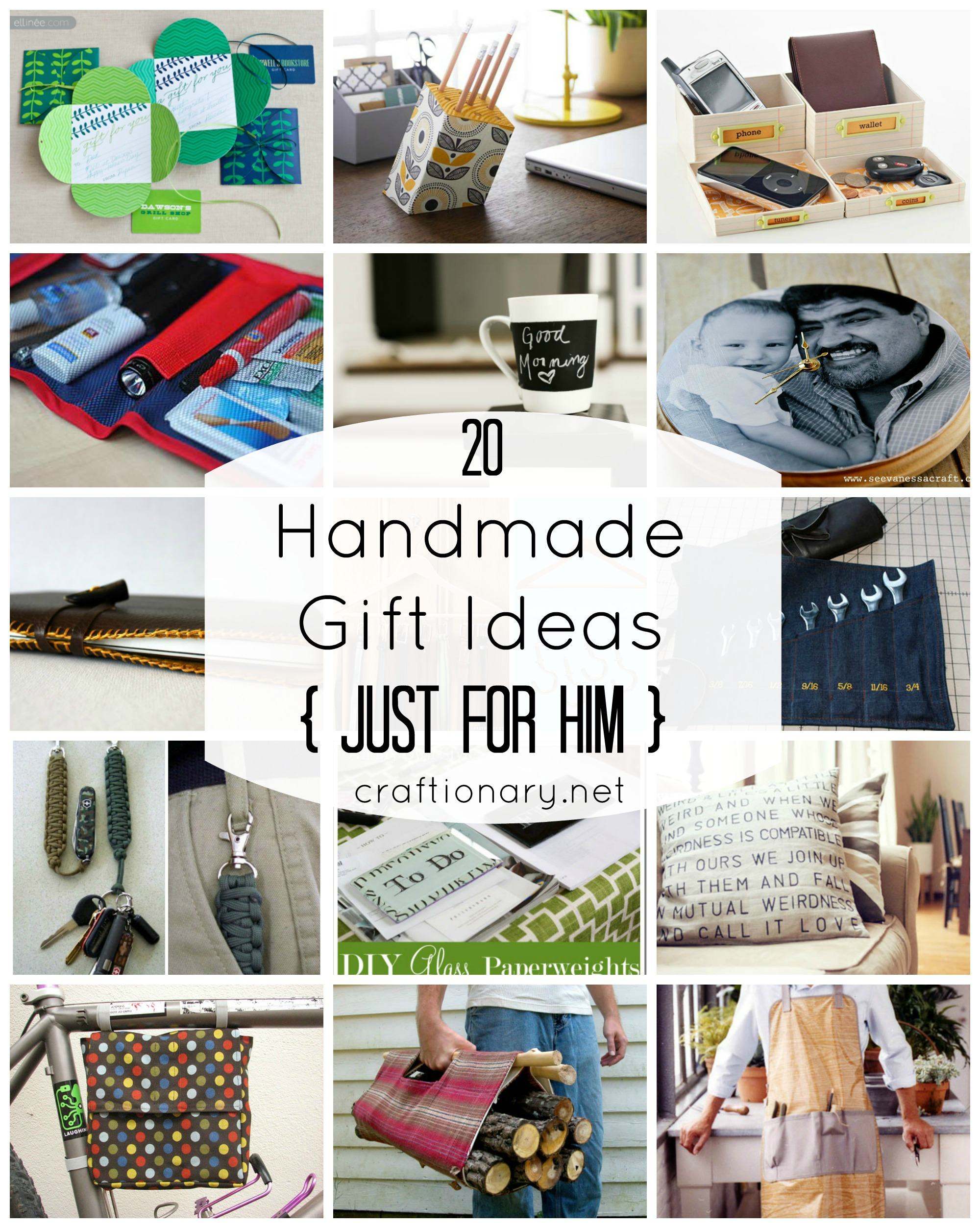 Handmade gift ideas just for him gift ideas for him looking for