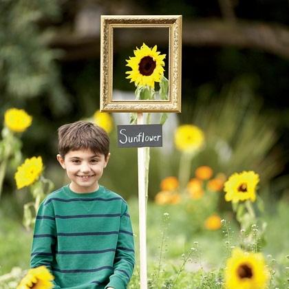 gardening with kids photo