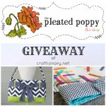pleated poppy giveaway
