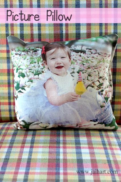 printed photo pillow tutorials
