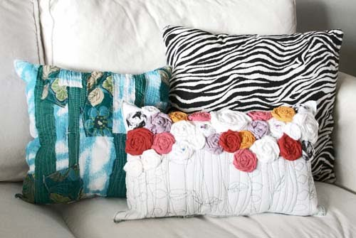 Handmade Decorative Pillow Ideas: Craftionary,