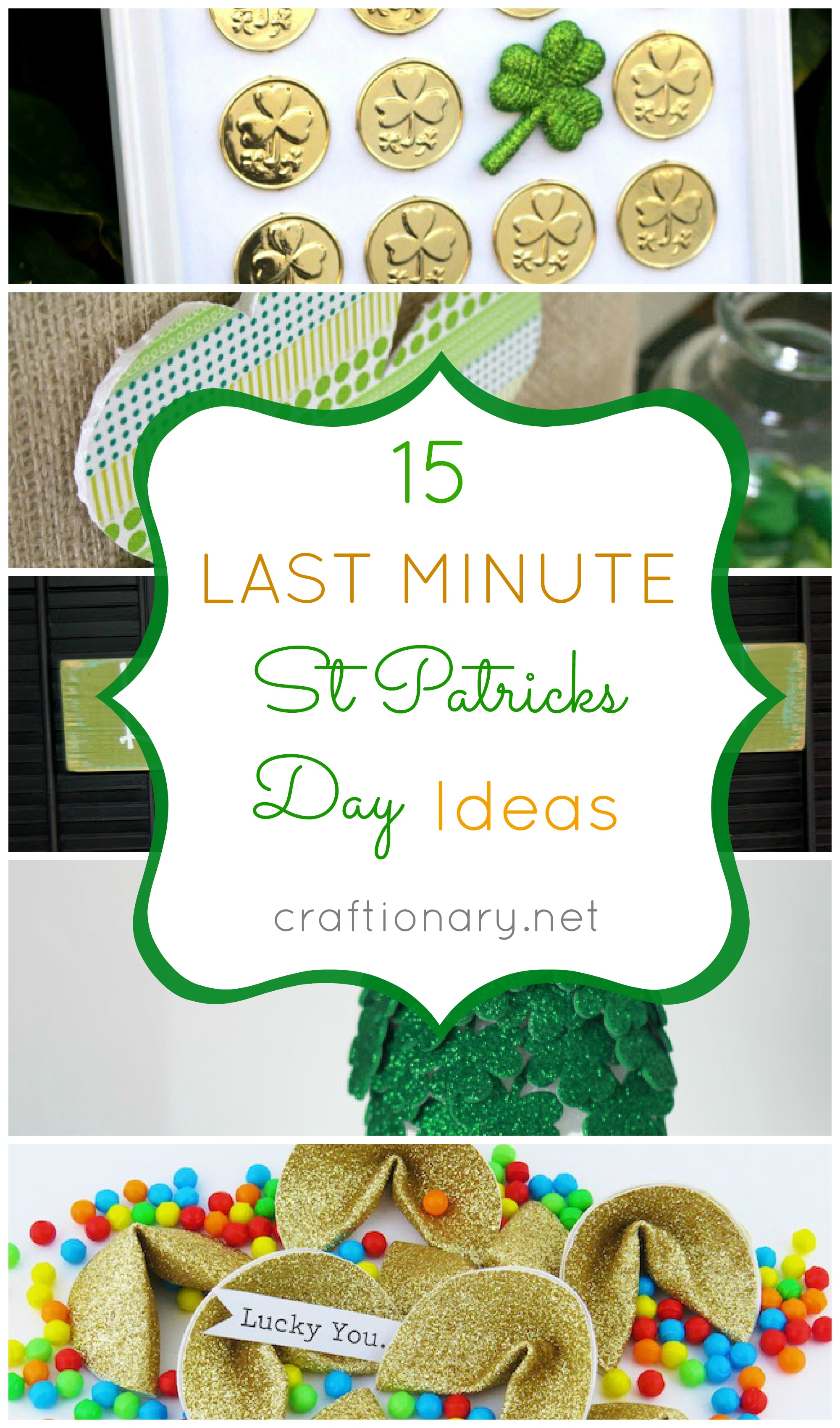 Craftionary for St patrick day craft ideas