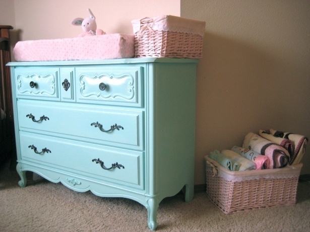 tiffany blue painted furniture