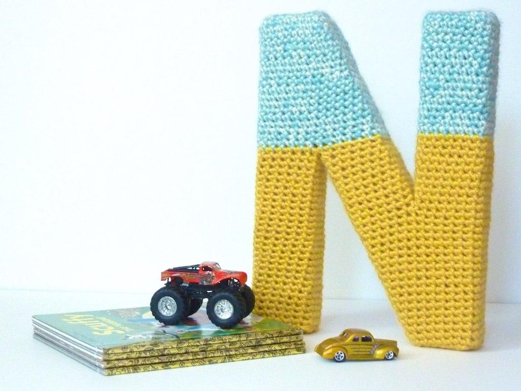 crochet letters tutorial