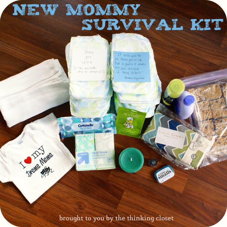 MOM SURVIVAL KIT GIFT IDEA