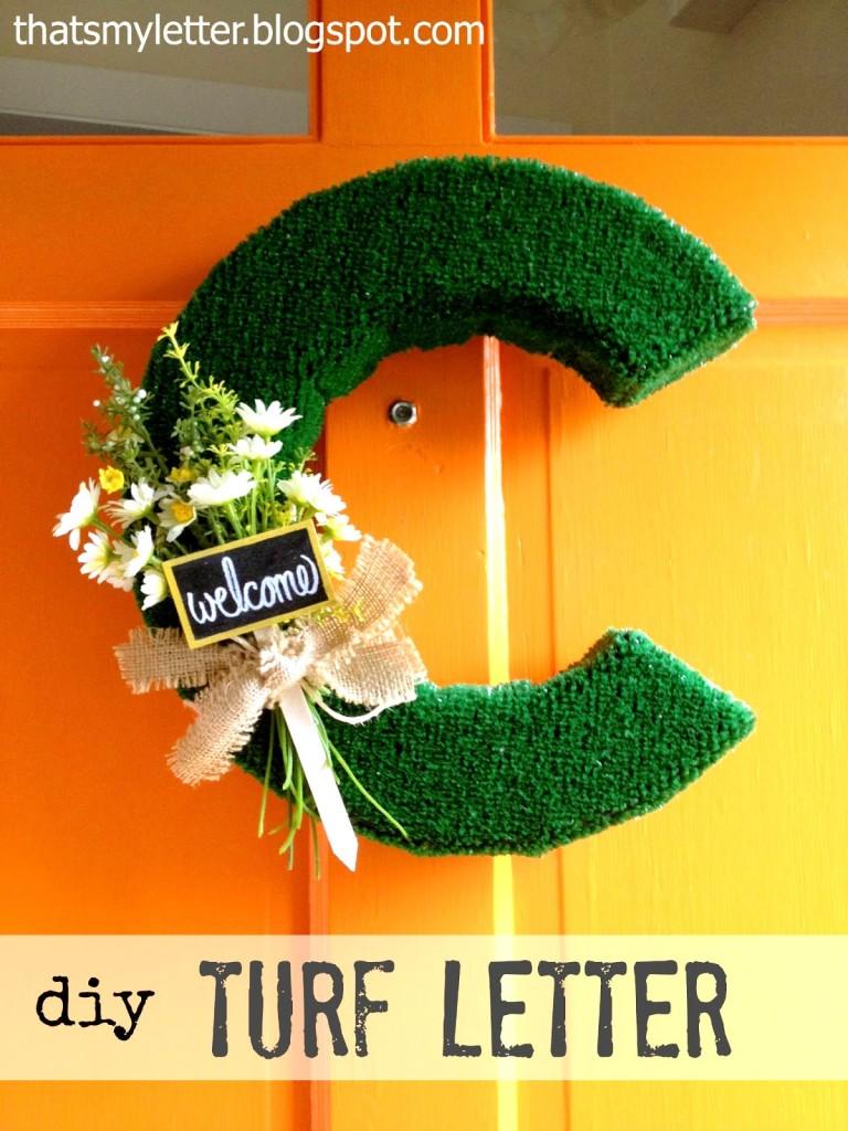 turf letters tutorial