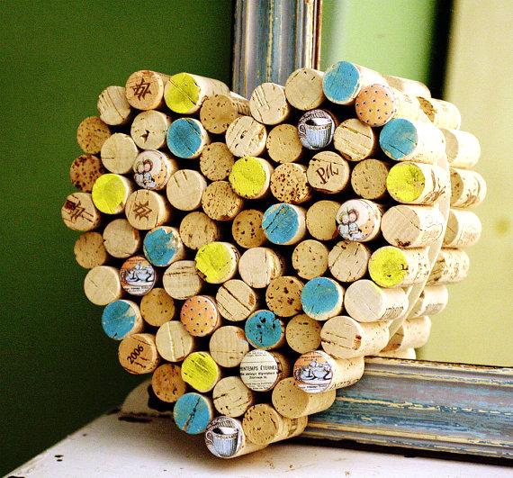 wine cork letters