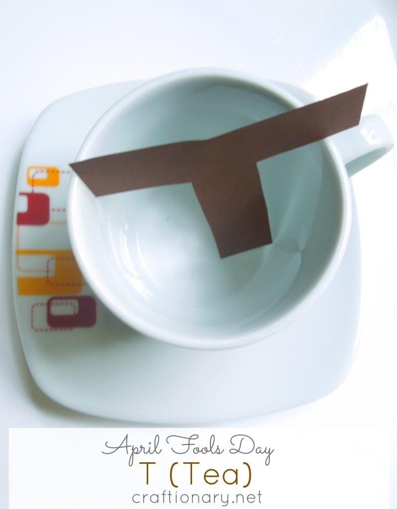 april fools day tea