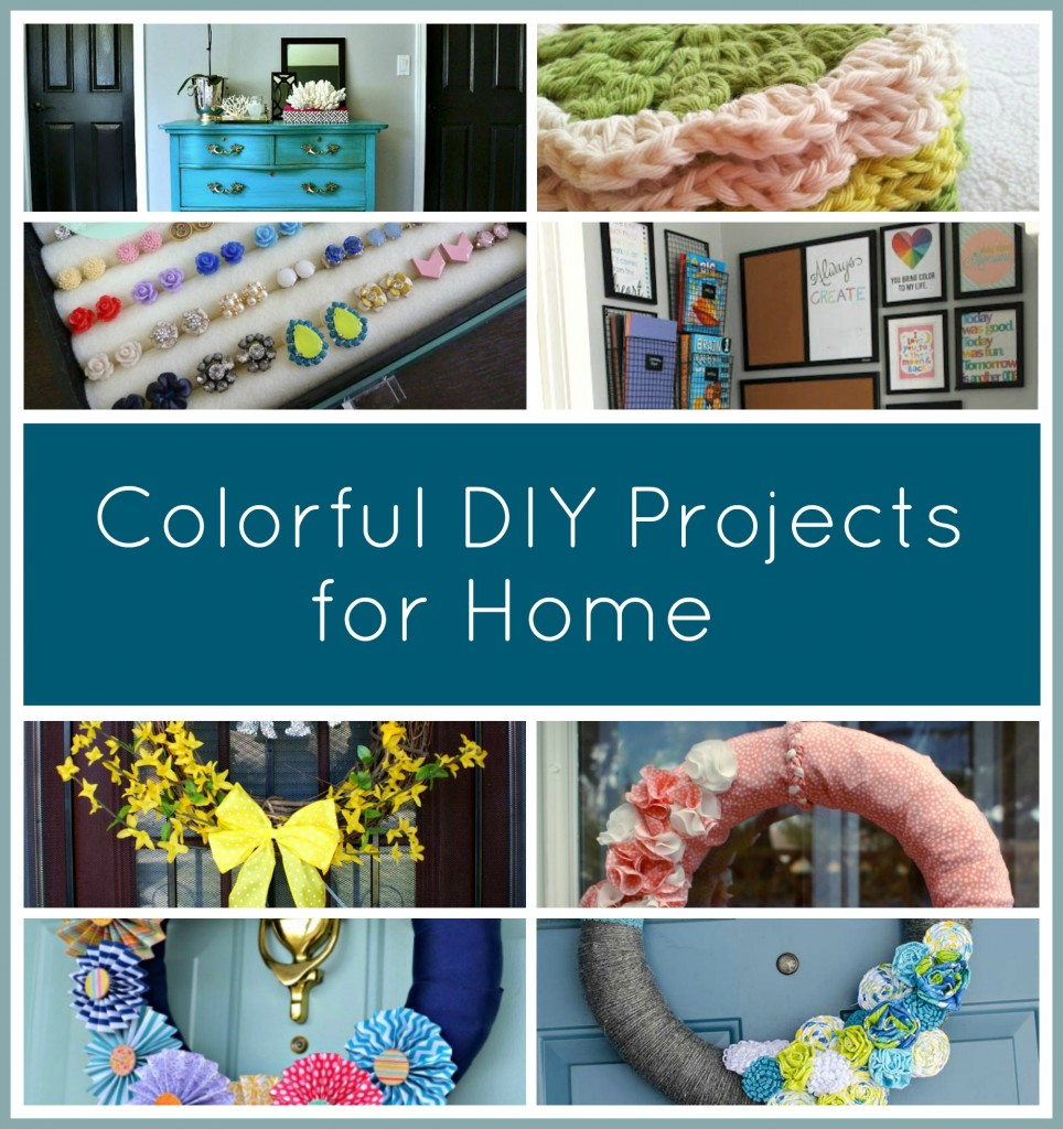 colorful projects for home