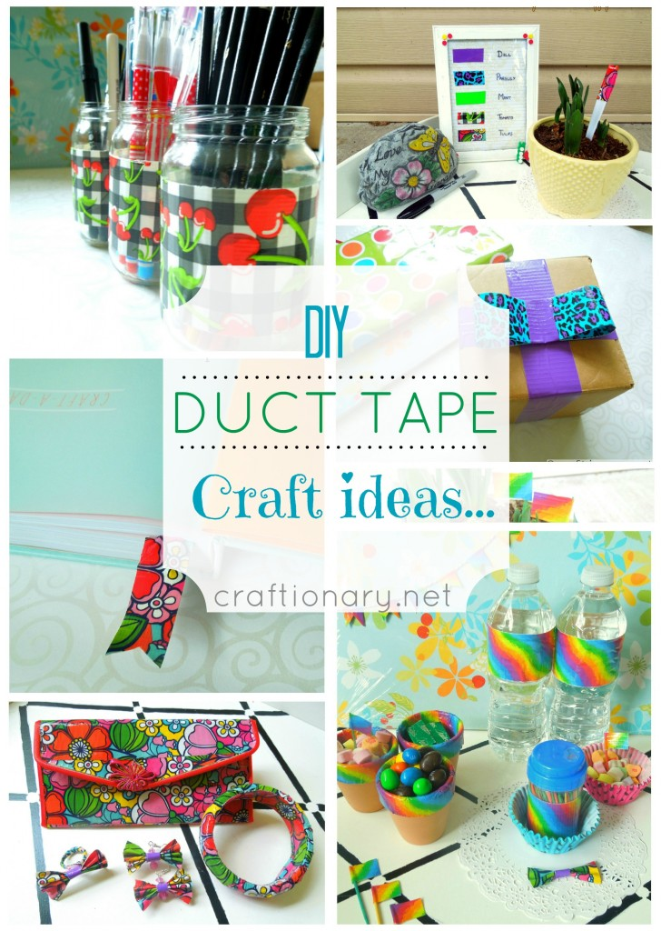 Craftionary for Duct tape bedroom ideas