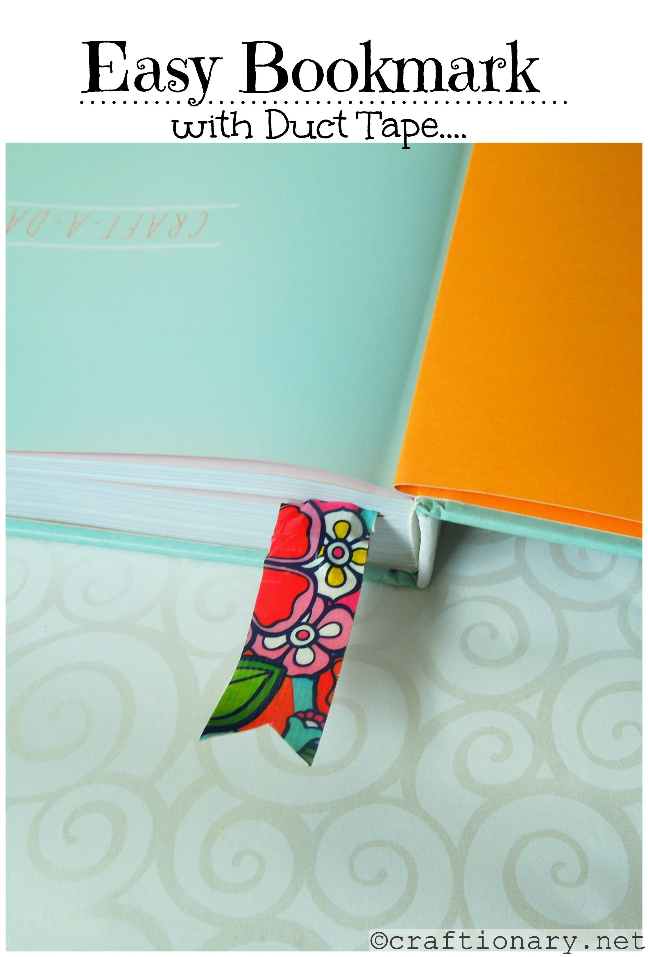 Craftionary for Easy bookmark ideas