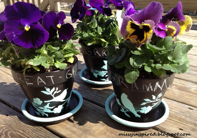 diy flower pots
