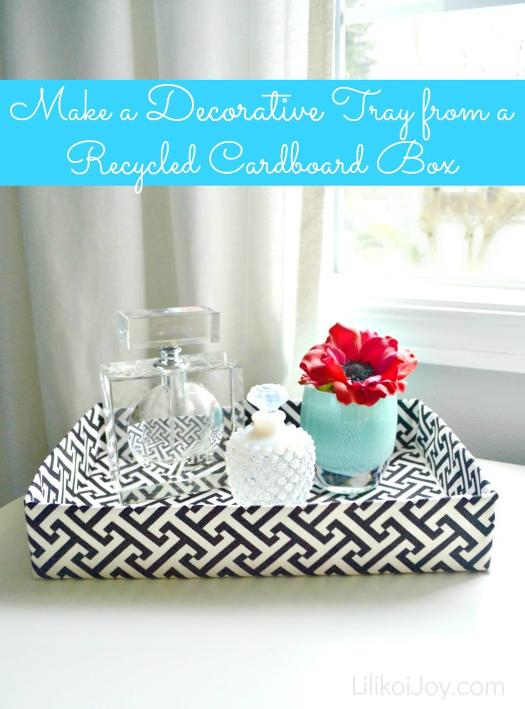 recycle DIY tray