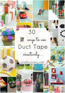 duct tape craft tutorials