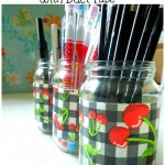 duct tape jars