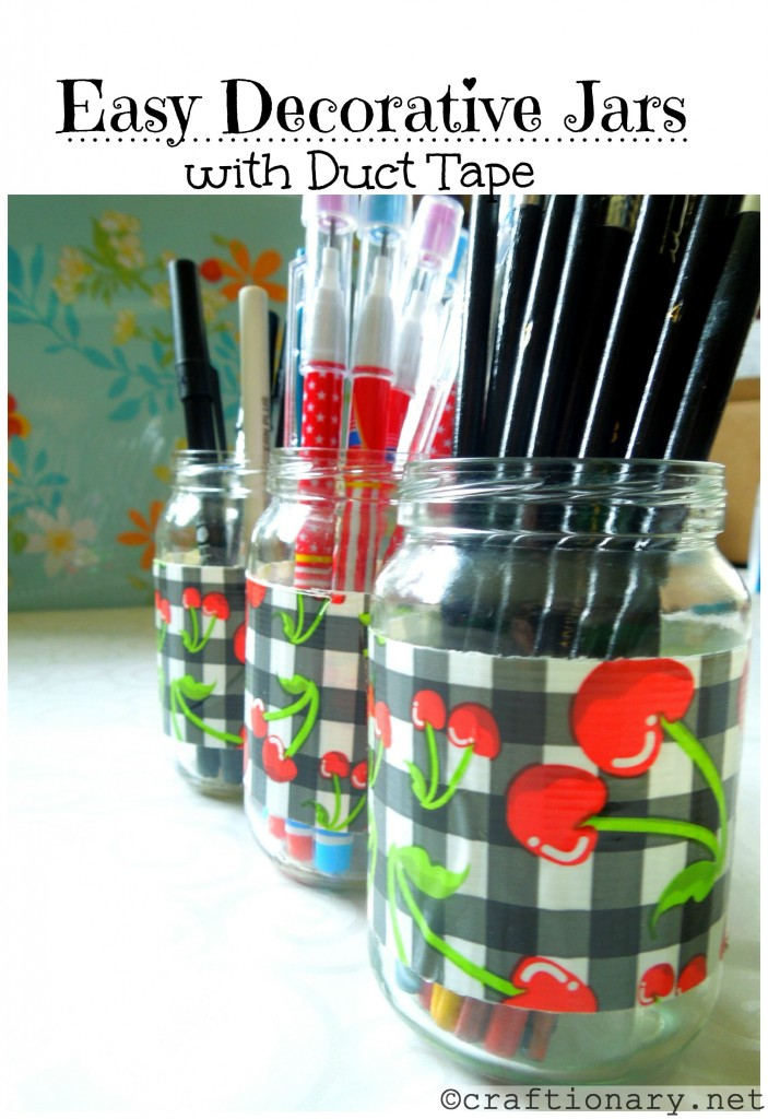 easy decorative jars