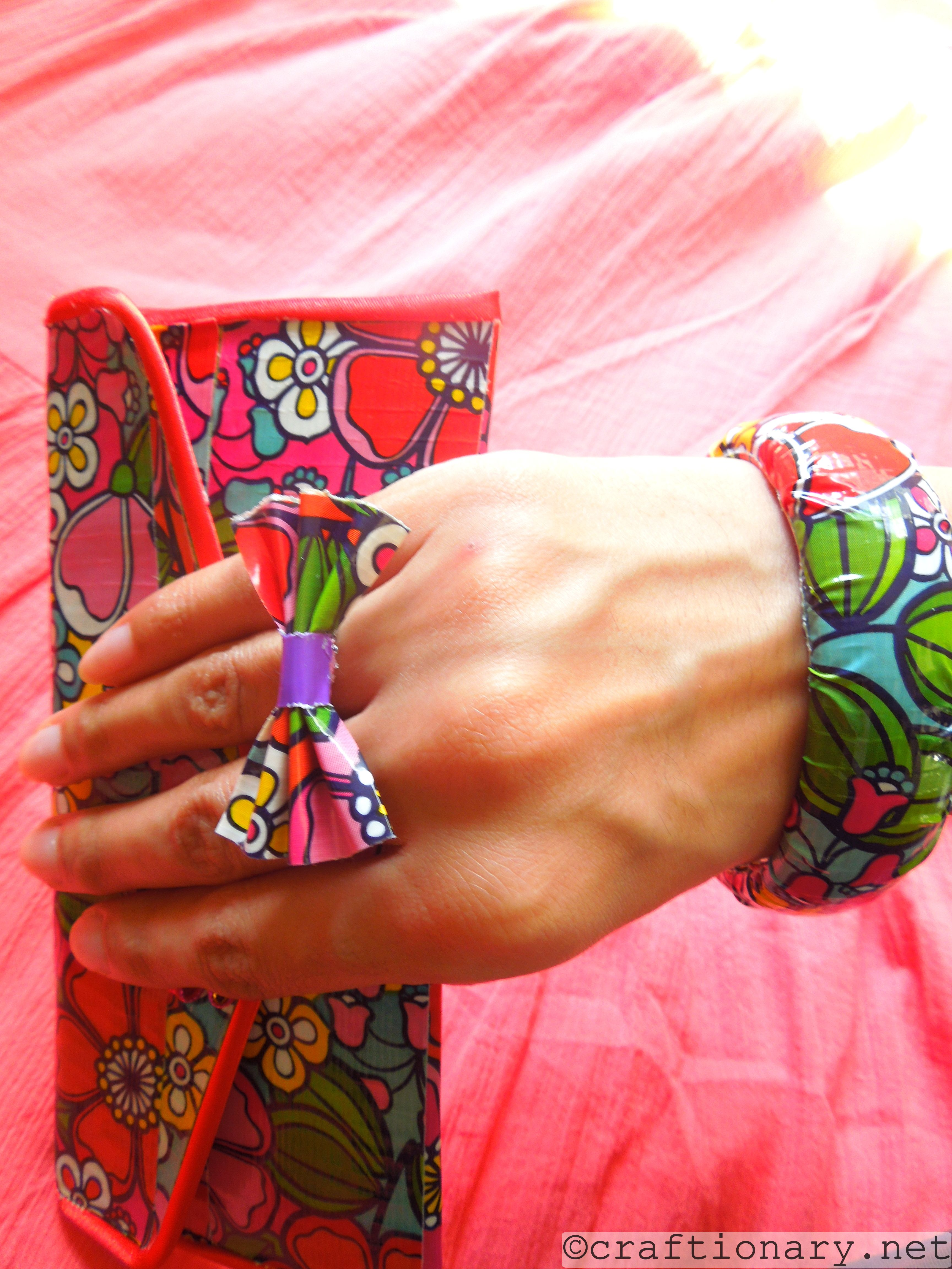 duct tape jewelry ideas
