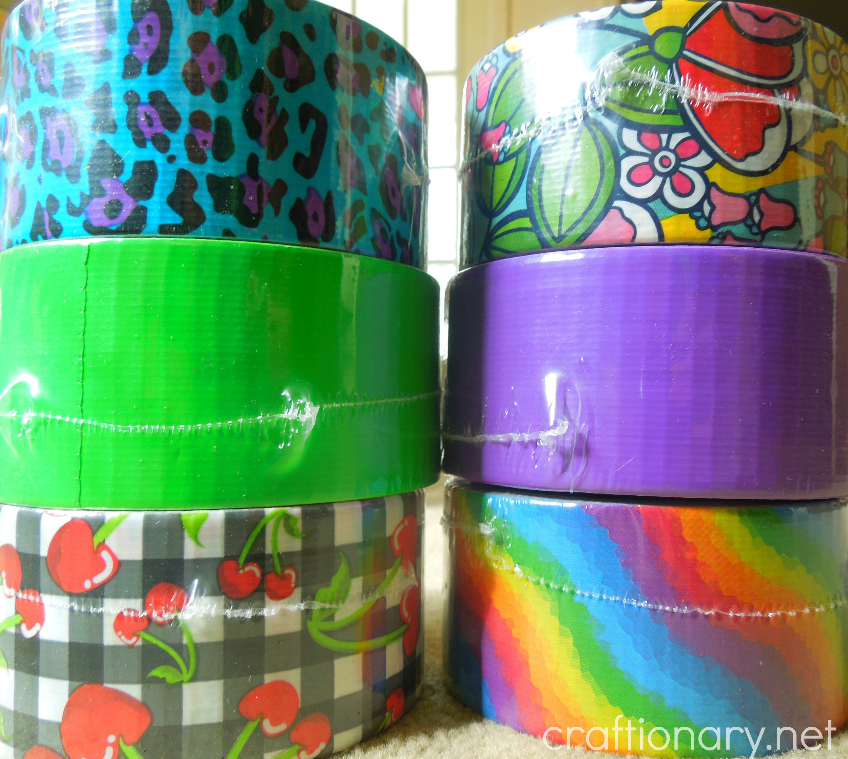 make duct tape projects