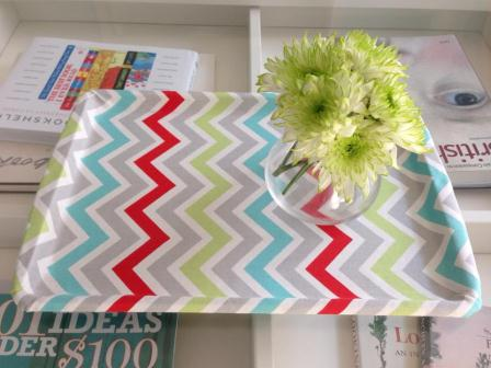 fabric DIY tray