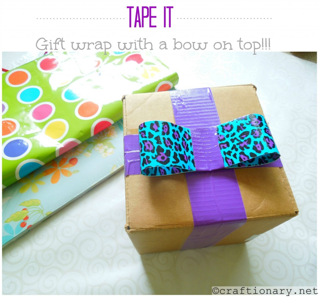 gift wrap with a bow