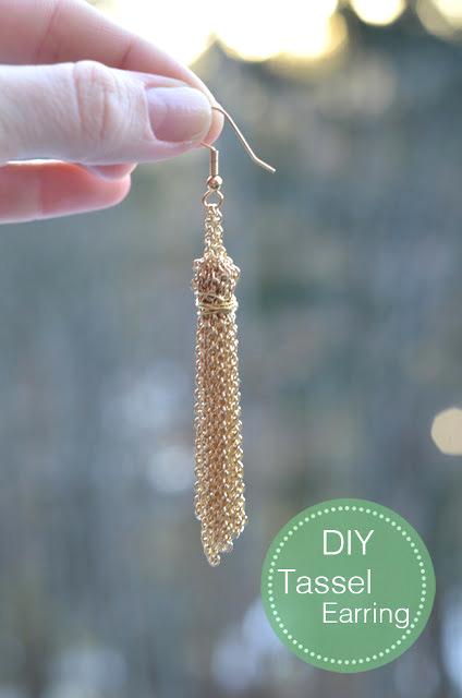 handmade gift earrings tutorial