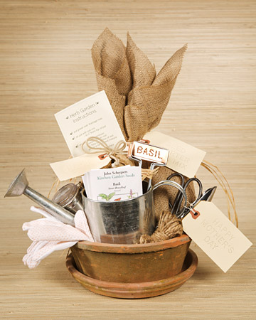 handmade gift herb kit