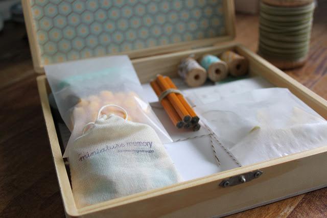 handmade gift stationery kit