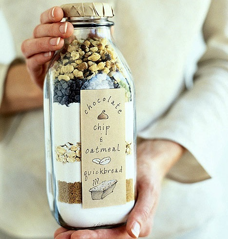 homemade gift ideas bread jar