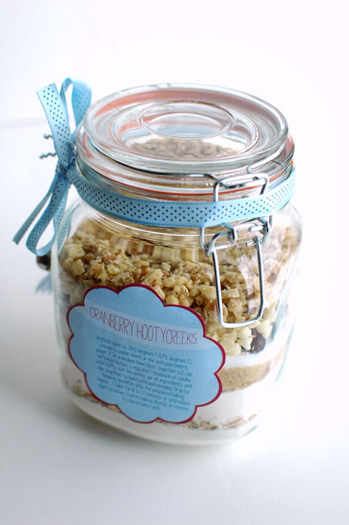 homemade gift cookie jar