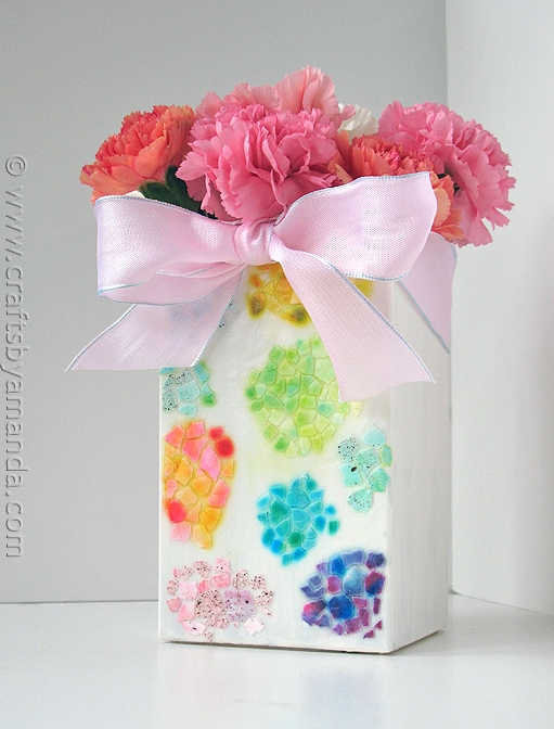 Craftionary Crafty Flower Vase on cheerful flowers, photography flowers, decorating flowers, reading flowers, awesome flowers, cute flowers, random flowers, chic flowers, artsy flowers, love flowers, knitting flowers,
