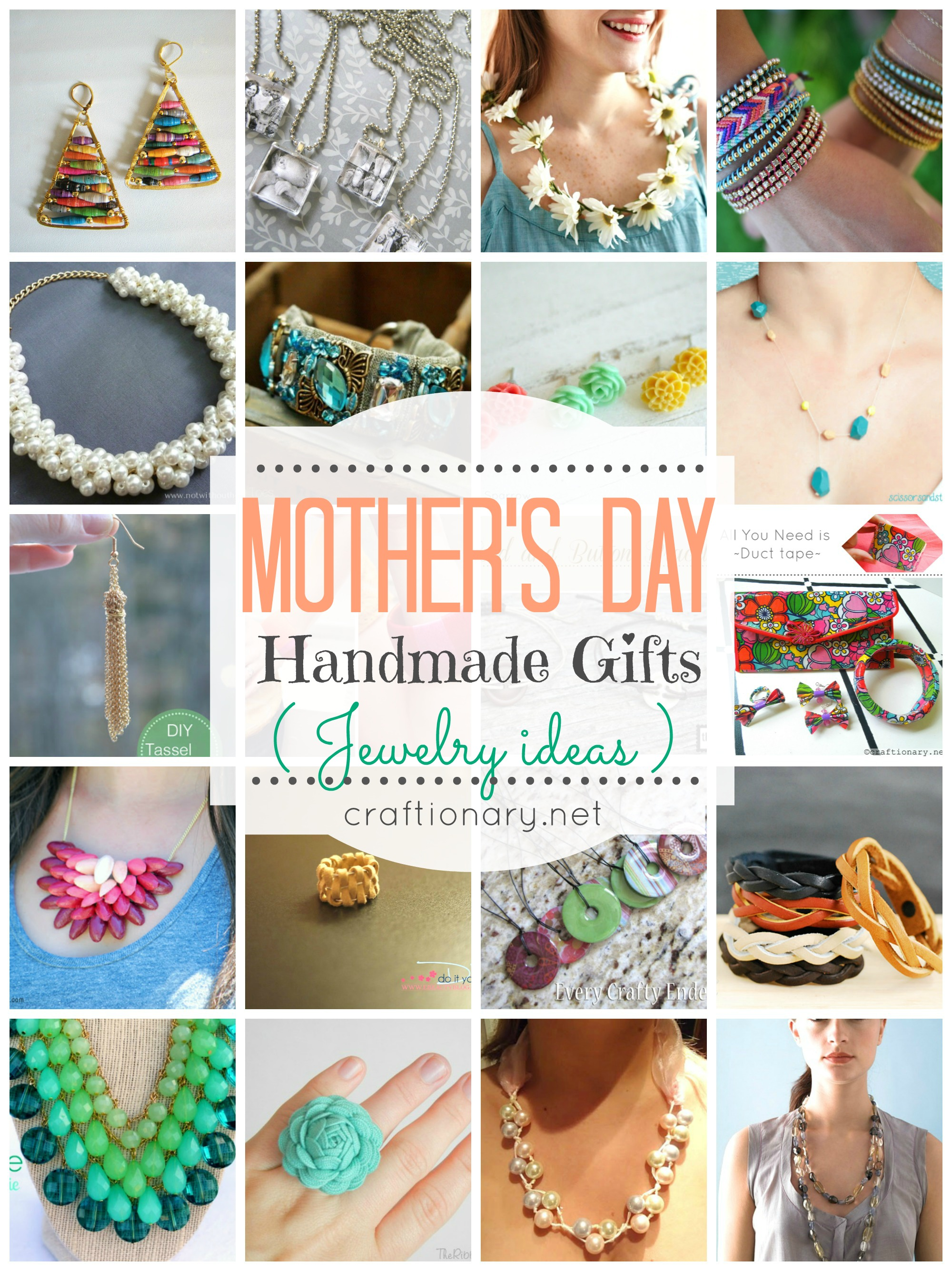 Gifts Ideas For Mothers Day: Craftionary