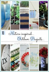 nature inspired outdoor projects