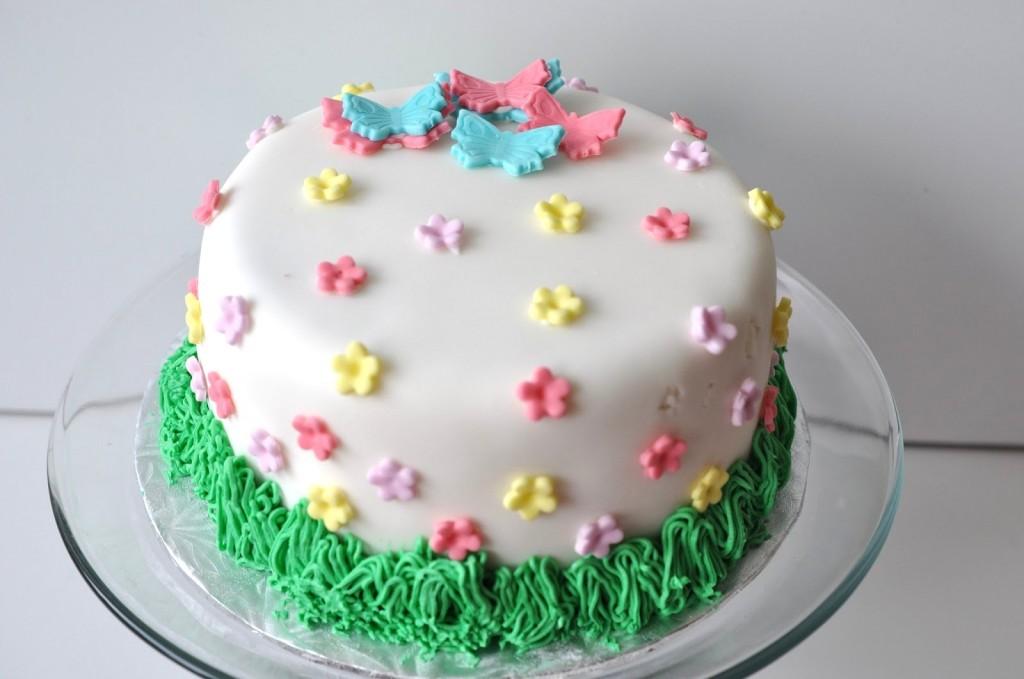 spring cake idea