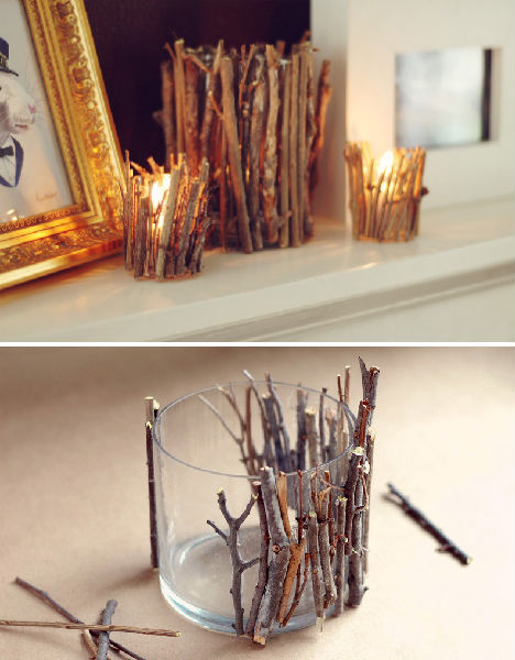 twigs vase tutorial