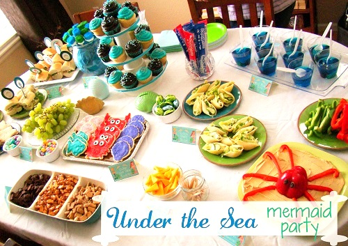 under the sea mermaid party