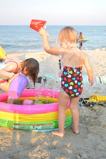 beach water fun idea