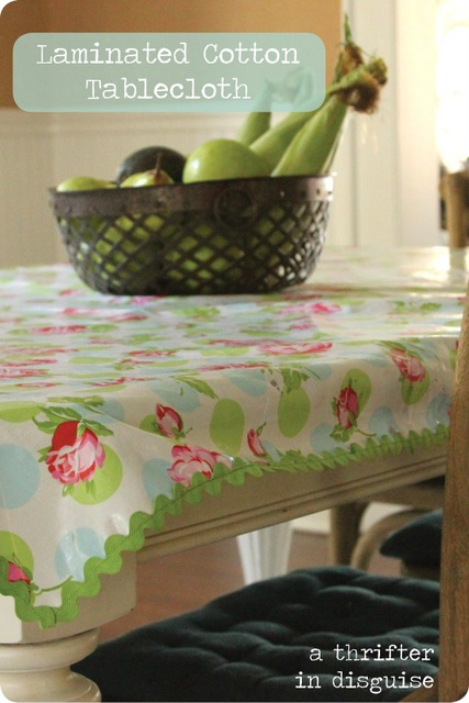 DIY-laminated-tablecloth