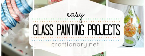 20 Easy Glass Painting Projects (DIY Glass Paint)