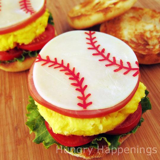 fathers day breakfast sandwich