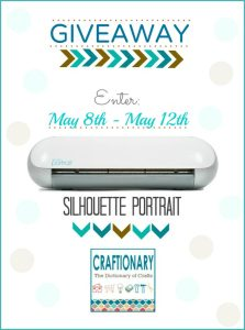 Silhouette Portrait GIVEAWAY + Chipboard Promotion