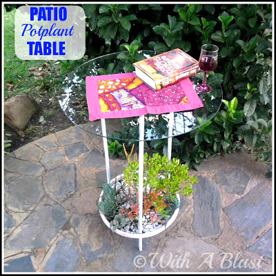patio pot table