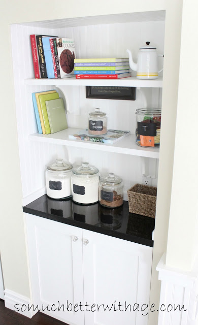 diy butler pantry from closet