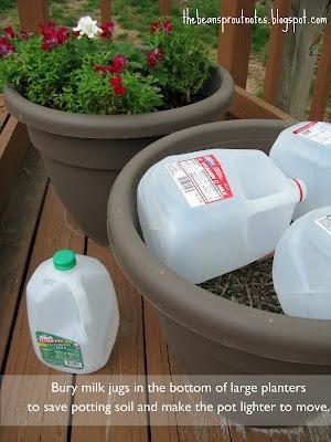 DIY garden planters tip